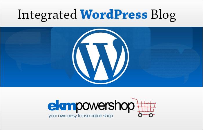 wordpress blogging on ekmpowershop