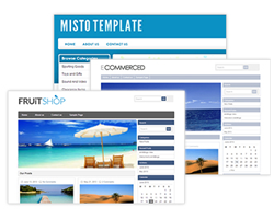 design gurus at have created a matching blog template